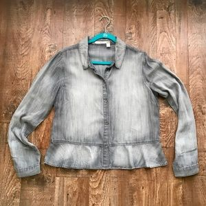 Chelsea & Violet Chambray Shirt